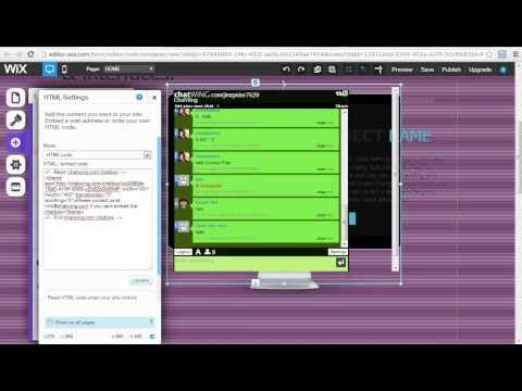 How To Put A Chatroom On Your Website from YouTube · Duration:  1 minutes 5 seconds