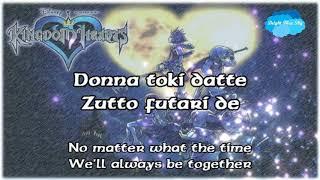 Simple And Clean (Jap Ver) By Utada Hikaru (Lyrics) - Kingdom Hearts