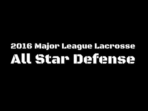 Major League Lacrosse All Star Defense