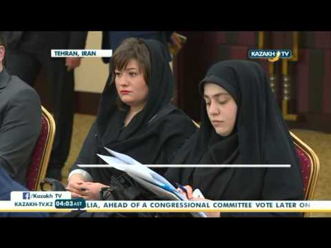 Kazakh-Iranian business council held in Tehran - Kazakh TV