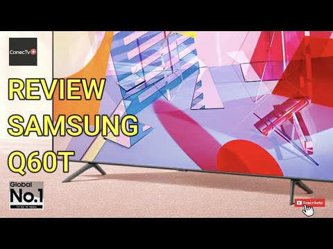 SAMSUNG QLED Q60T Smart TV Quantum Dot línea de TV 2020: Review en Español