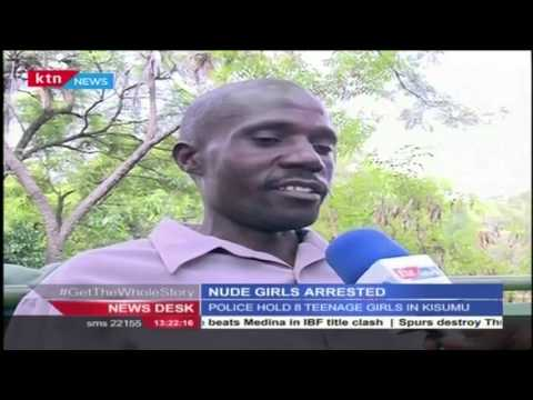 Teenage girls arrested in Kisumu for stripping nude for pictures