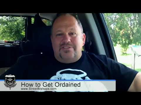 How to get Ordained as a Minister to begin a Church