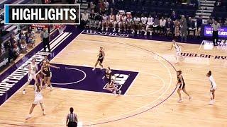 Highlights: Valparaiso at Northwestern | B1G Women's Basketball | Nov. 21, 2019