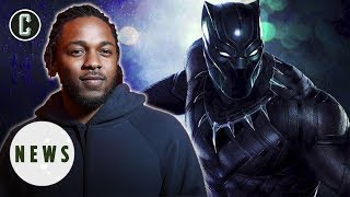 DAMN! Kendrick Lamar to Produce Black Panther Album