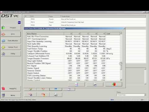 DENSO DST-PC / DENSO-C Trouble Codes & Multiple Freeze Frame Data ...