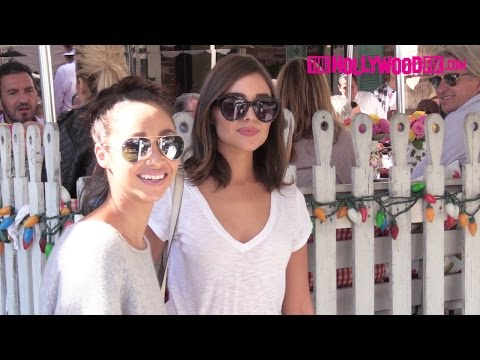 Olivia Culpo & Cara Santana Have Lunch Together At The Ivy 10.17.16  TheHollywoodFix.com