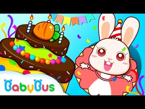 Baby Panda's Birthday Party | Kids Party Songs & Animations | BabyBus
