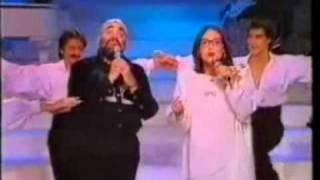 Nana Mouskouri and Demis Roussos