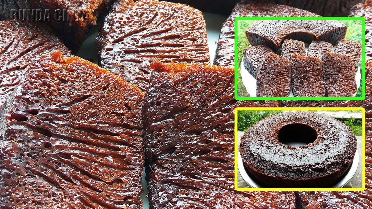 Bolu Karamel Sarang Semut Tanpa Mixer How To Make Bolu Caramel