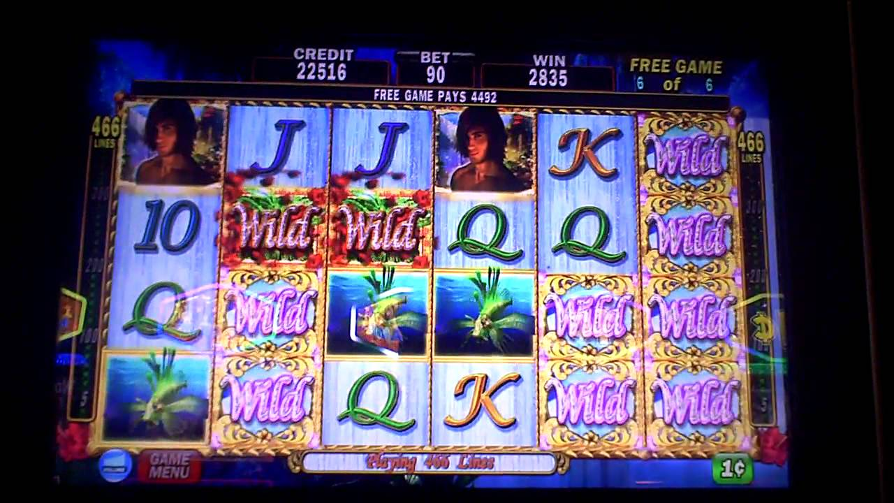 White falls slot machine bonus