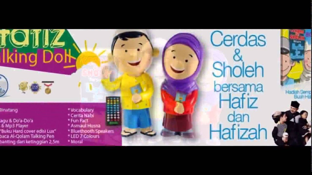 08121987880 Jual Hafiz Talking Doll Di Padang Youtube Boneka