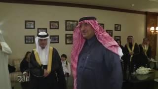 شاهد :ولي العهد مع أحد أبناء متلازمة دوان