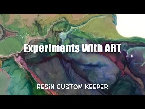 Experiments With Art - Resin Custom Keeper
