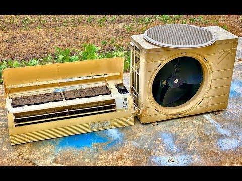 Restoration Air Conditioning Mini 12,000 Japan Old | Restoration Air Conditioning Out Of Date