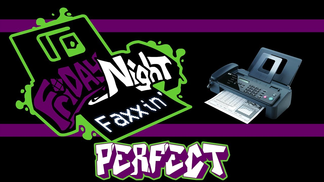 Download Friday Night Funkin' - Perfect Combo - V.S. Fax Mod + Cutscenes & Extras [HARD] (True Ending)