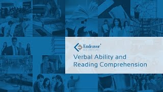 Preparing for Verbal Ability and Reading Comprehension | CAT 2016