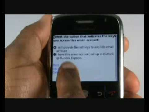 Set up Email on your BlackBerry Bold 9000 | The Human Manual