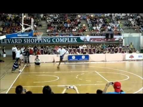 Slam dunk competition at Miri - Malaysia