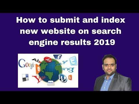 How to submit and index new website on search engine results 2019