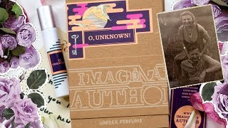 Imaginary Authors: O, Unknown! - обзор аромата для путешественников | +ENG SUBS | Anisia Beauty