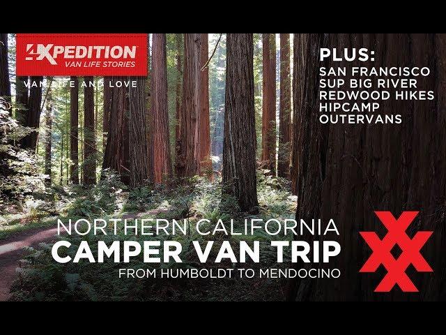 Camper Van Life Northern California Vacation and Humboldt Camping