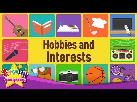 Học tiếng Anh chủ đề 2: Sở thích