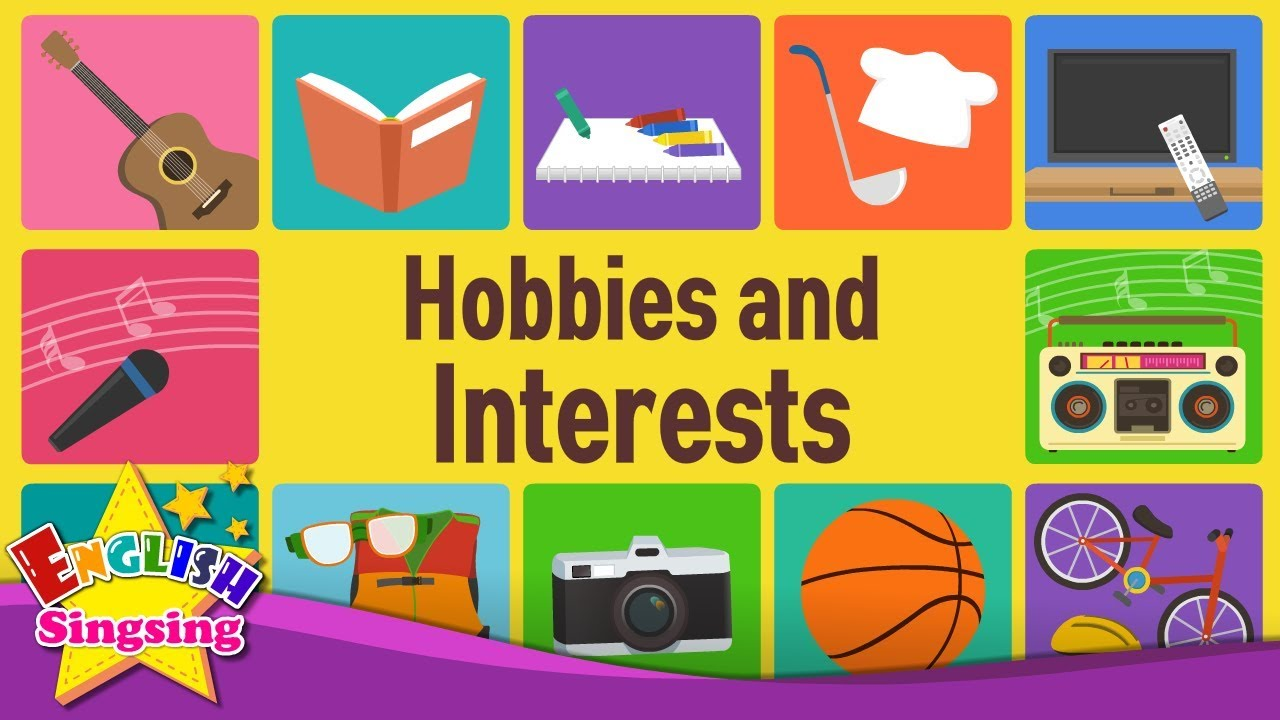 kids vocabulary hobbies and interests what do you like doing