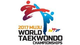 [Live_Day4:Court4]2017 World Taekwondo Championships, Muju (W-53kg, W+73kg, M-58kg)