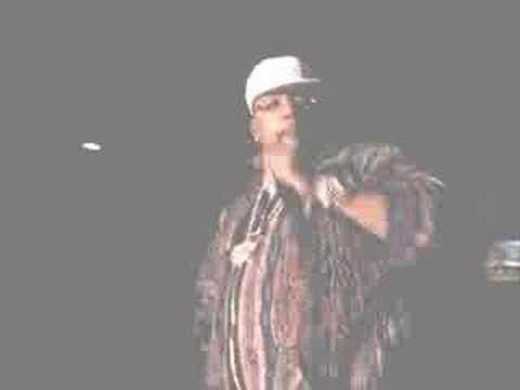 Pimp C (of UGK) live on stage in Little Rock, Arkansas.