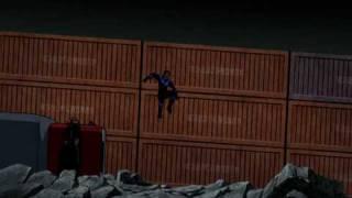 Batman Under the Red Hood: Nightwing helps Bats