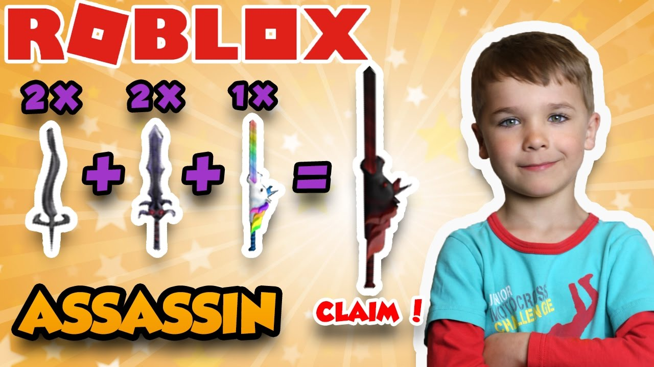 How To Craft Dark Horse in Roblox Assassin | Mythic Knife Crafting ...