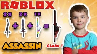 How To Craft Dark Horse in Roblox Assassin | Mythic Knife Crafting | Dark Unicorn Recipe