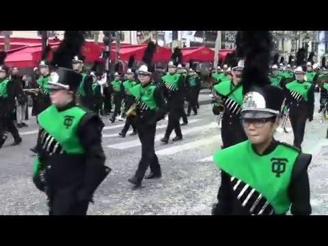 Champs Elysées Parade - Thousand Oaks High School Lancer Marching Band