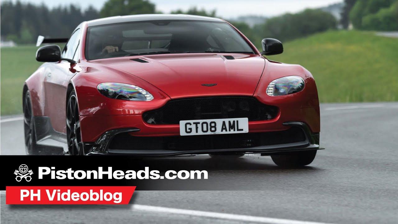 Aston Martin Vantage Gt8 Ph Videoblog Youtube