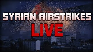 BREAKING: Syria Under Attack! US/France/UK Strike - Russia Threatens Retaliation - PFT Live