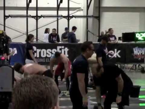 Crossfit Games Canada East Regionals 2013 Day 2 Event 1