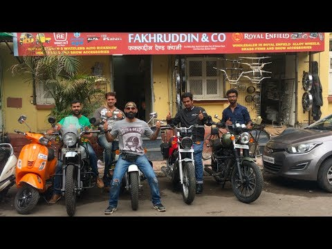 Royal Enfield Accessories | Fakhruddin & Co | Motorcycle parts