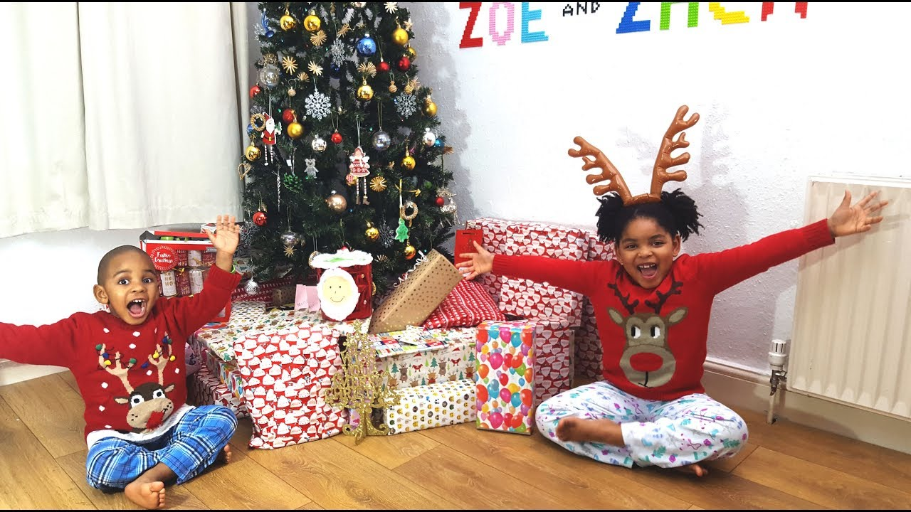 Opening Presents On Christmas Day 2020 CHRISTMAS DAY SPECIAL OPENING PRESENTS 2017 | CHRISTMAS MORNING
