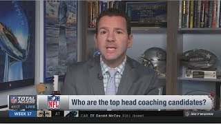 Ian Rapoport lists three teams that can be searching for a new coach in 2020