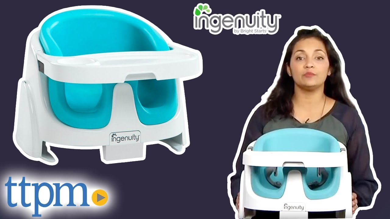 Bright Starts Stoel.Ingenuity By Bright Starts Baby Base 2 In 1 From Kids Ii Youtube