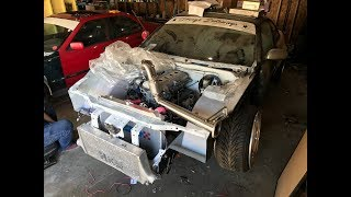 S14 Kouki New Down Pipe! GTO Finally Gets A Trans!!!