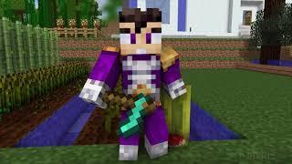 VEGETA VS VEGETTA777 - EPISODIO 2 (Serie) | Animación Minecraft