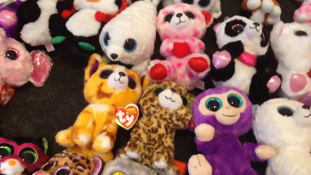 2bcc39251ff Beanie boo collection. (I have 200 beanie boos) - YouTube
