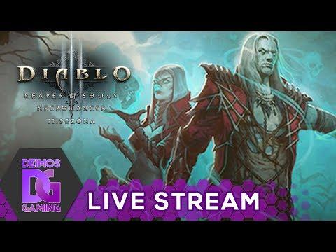 [Z] Diablo 3 - Necromancer - 11. sezóna   STREAM od 9:00 CZ/SK (17.8.2017) [1080p]