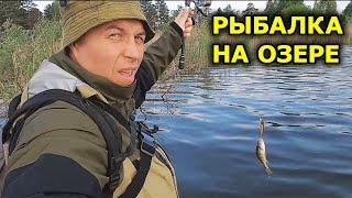 Бывает же так Рыбалка на озере Ловля щуки на спиннинг