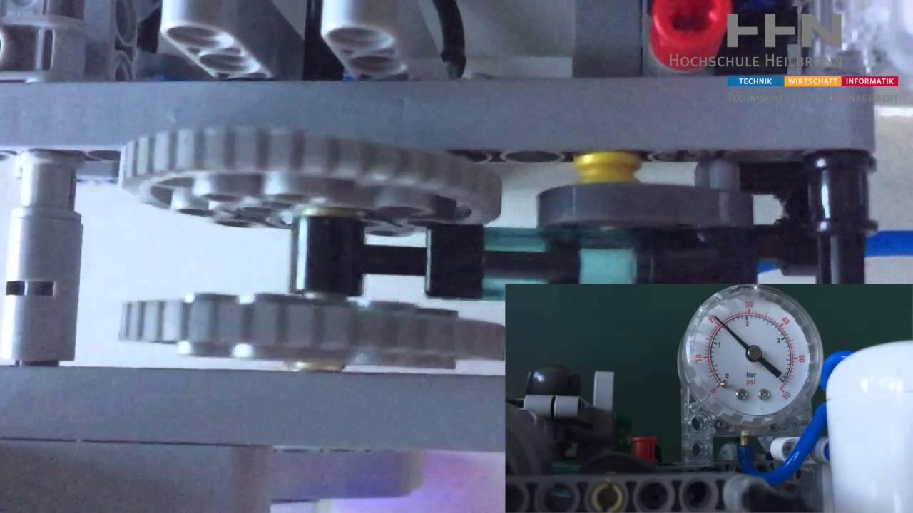 Lego Mindstorms Projekt Automatisches Hubwerk mit Sortierfunktion ...
