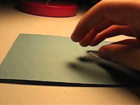 hinging\mounting a postage stamp