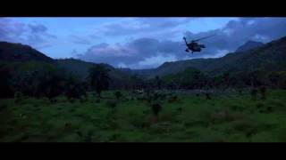 Clear and Present Danger Helicopter Insertion Scene