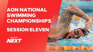 Session Eleven | Aon New Zealand Championships | Swimming